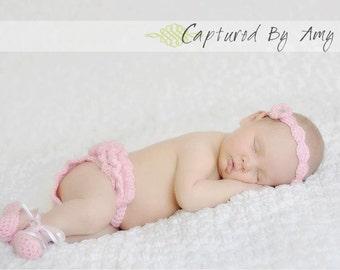 Crochet Pattern - Ballerina Photo Newborn Prop - Immediate PDF Download