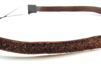 Brown Sparkle Headband
