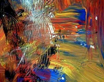 Artist Print of Acrylic Painting