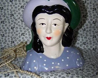 Lady Head Vintage Lady Bust