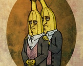 "Conjoined Twins - 8""x10"" limited edition Giclee print"