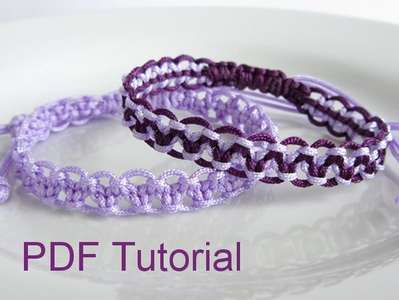 how to make a square knot bracelet pdf tutorial alternating square knot macrame bracelet pattern 5238