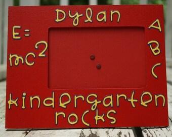Kindergarten Rock special order picture frame