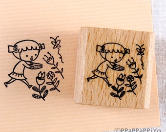 50% OFF SALE flower and me Rubber Stamp