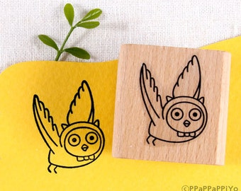 40% OFF SALE Flying owl O1 Rubber Stamp