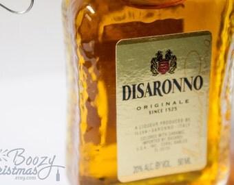 DiSaronno Christmas Ornament-- DiSaronno Amaretto Liqueur Themed Christmas Tree Ornament.