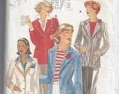 Butterick 5269 Woman's Blazer Size 14