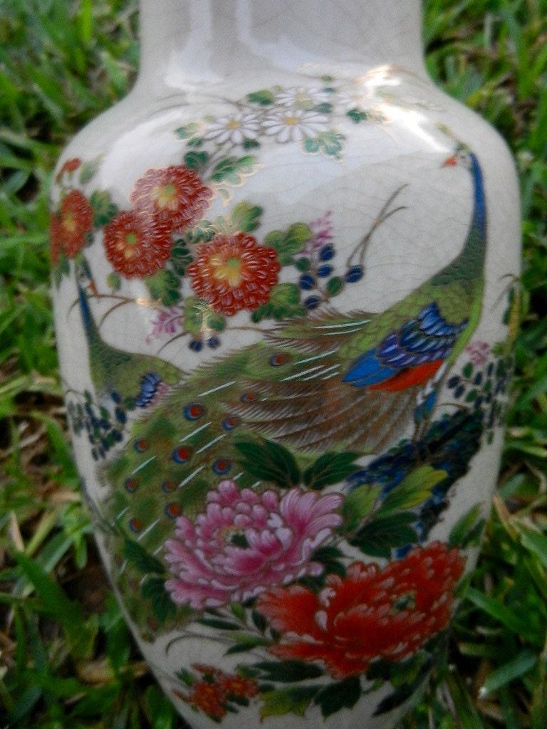 10 Off Large Andrea By Sadek Vase Gold Trimmed Floral