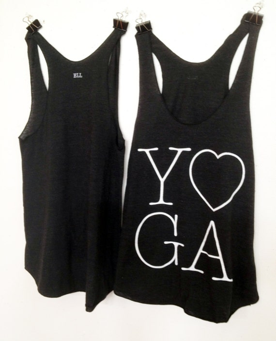 Items Similar To Black And White Yoga Tank Top On Etsy