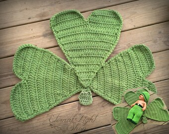 St. Patrick's Day Shamrock Mat/Rug
