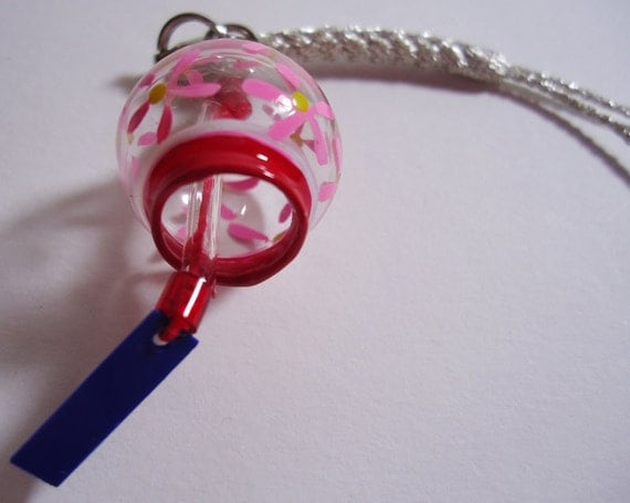 Reserved for an angel. SuperHaCharlotte.ThanksJapanese kawaii Wind Chime Charm, Strap...