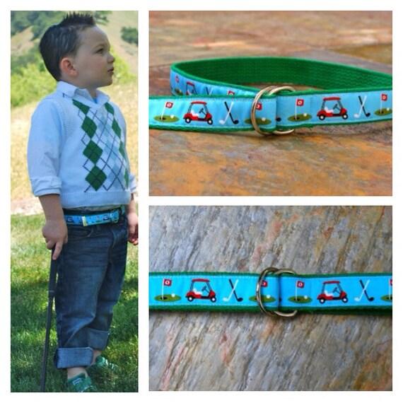 Baby/Children's Little Golfer Belt