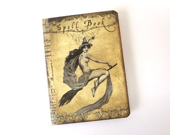 Mini Spell Book, Witch Journal Notebook, Halloween Journal, Witch's Diary, Wicca Spell Book, Witch Pocketbook, Mini Wiccan / Pagan Journal