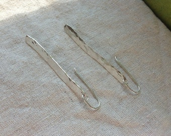 Solid Sterling Silver Hand Forged Sticks