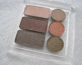 Neutral/Warm Tone Pressed Mineral Eye Shadow - PARABEN FREE -