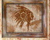 Indian Navajo Native American Paisley Rustic Vintage Antique Americana Print Art Design Graphic Wall art Southwest Aztec