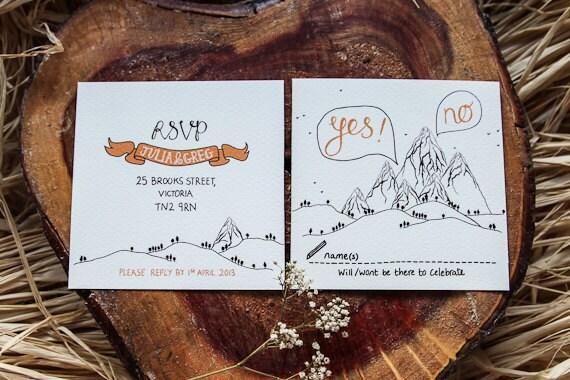 visit - Mountain Wedding Invitations