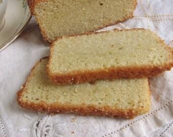 Gluten Free Lemon Pound Cake -lemon cake, Mothers Day cake, tea cake