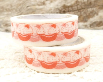 Red Cupcake Washi Tape