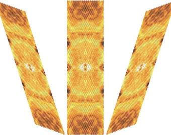 Eye Of  Ra  Bracelet - PDF pattern