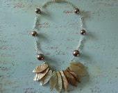 She Sells Sea Shells Beaded Necklace