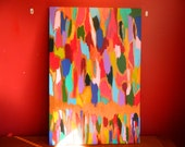 2' x 3' Colorful abstract painting