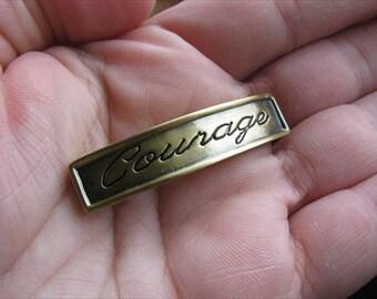 Inspiration Bracelet Link- Gold- Courage