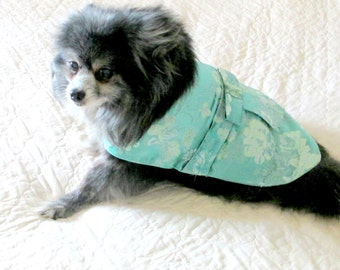 Small Dog Party Dress, Dog Party Dress, Dog Clothes, Made to Order Dog, Chihuahua Clothes, Shih Tzu Clothes