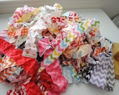Riley Blake Scrap Fabric Strips- Chevron and all varieties of the line