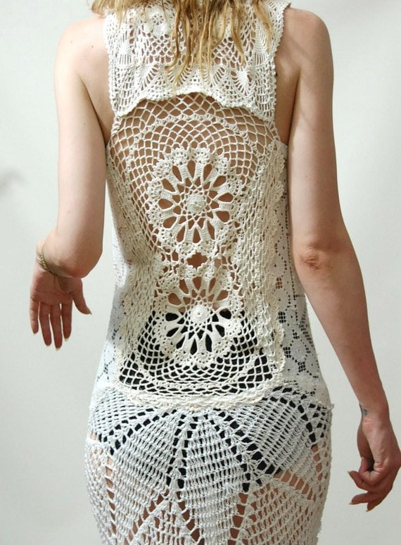 Vestidos a crochet y sus patrones - Imagui