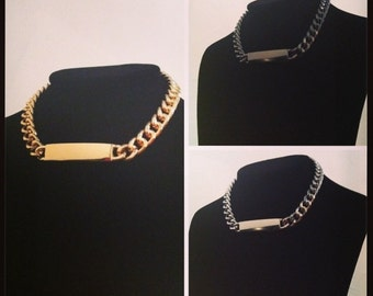 ID Chain Necklace