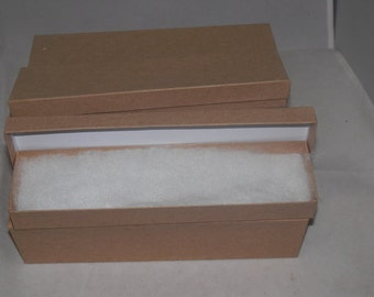 30% off 50 Assorted Size Bargain Bin Kraft Boxes, Jewelry Presentation boxes