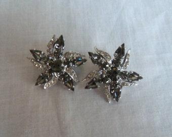 Vintage Weiss Starfish Earrings
