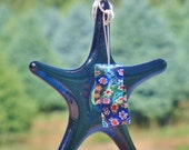 Fused Glass Star Suncatcher