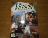 Collectible Vintage Victoria Magazine October 1989 FREE SHIPPING