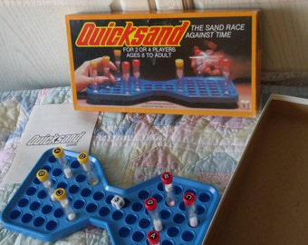 1981  Quick Sand Whitman 1981, Vintage Board Games, Games, Family Game Night, Toys, Vintage Toys, Sand Timer Game, / :)S