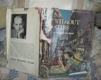 Night Without Stars by Winston Graham-1950 (Hardcover with Dust Jacket)