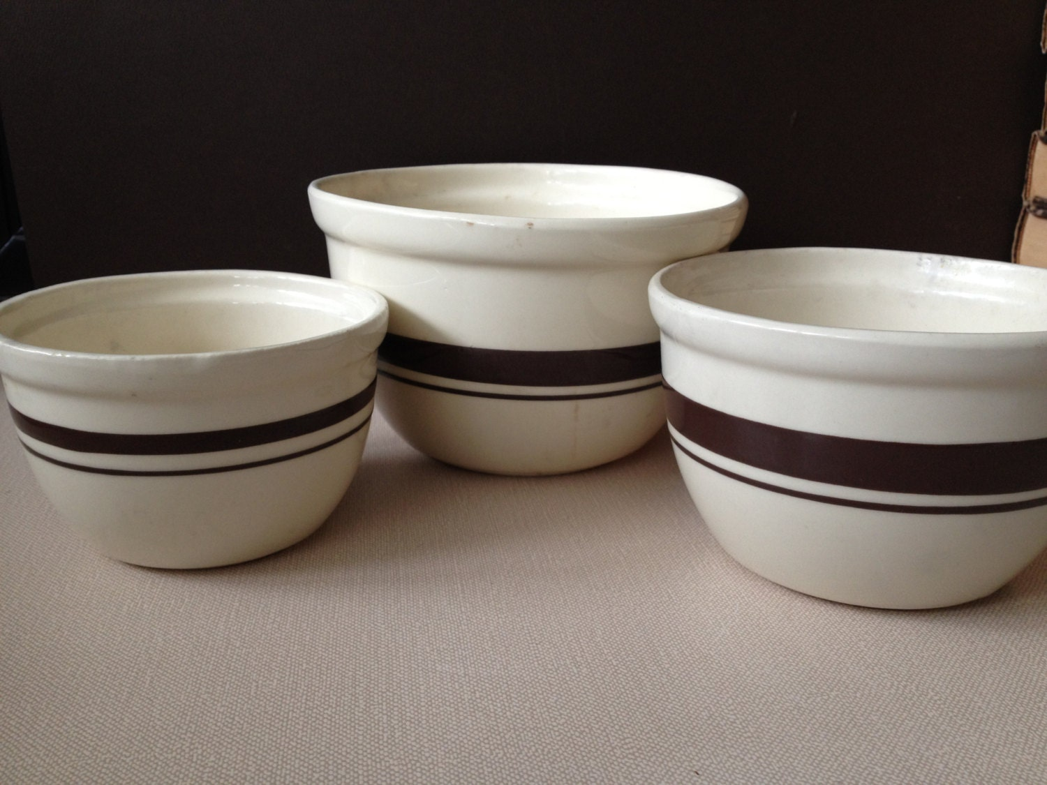 leach pottery - mixing bowl set | JUNE