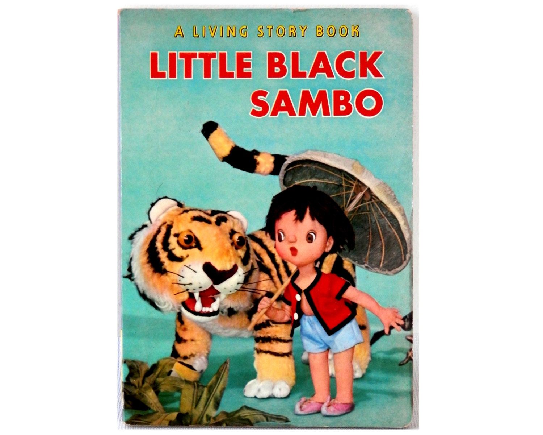 1962 Little Black Sambo Children's Book Shiba by bigbangzero