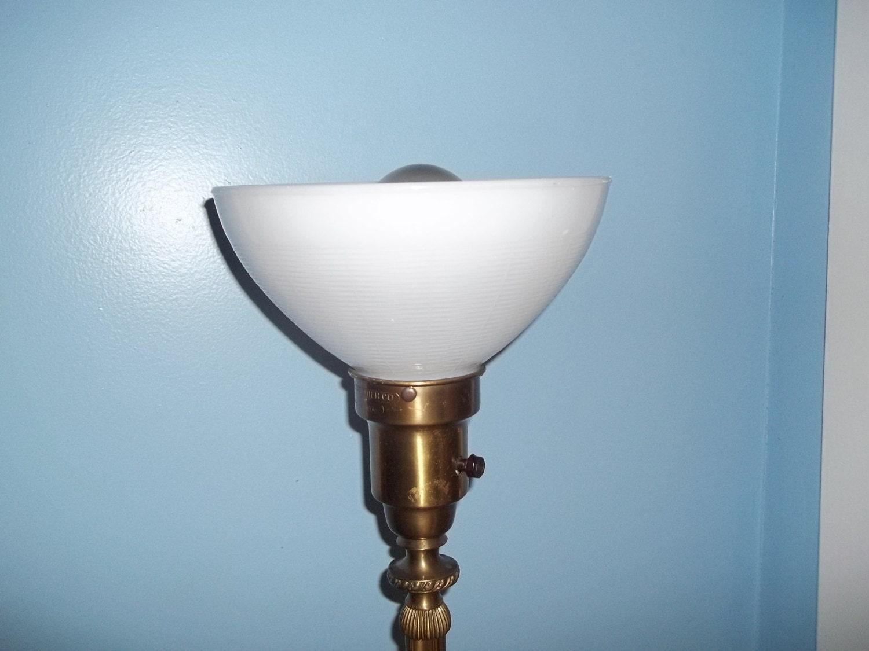 antique colonial premier floor lamp brass mogul socket. Black Bedroom Furniture Sets. Home Design Ideas