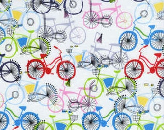 Timeless Treasures fabric BICYCLES