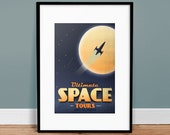 Space Tours Poster Art Print