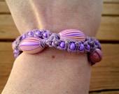 Unique Design Macrame Hemp Bracelet