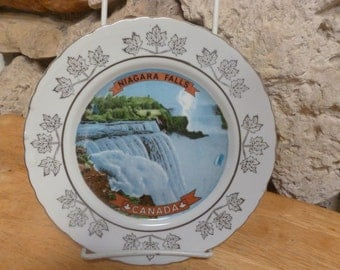 Vintage Niagara Falls Canada Plate