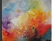 "30""x30"" Original ABSTRACT Painting by Tatjana Ruzin"