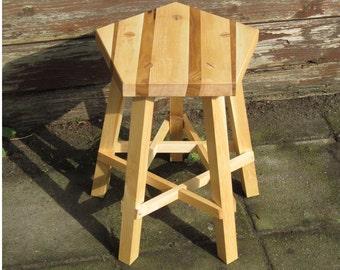 Pentagram stool