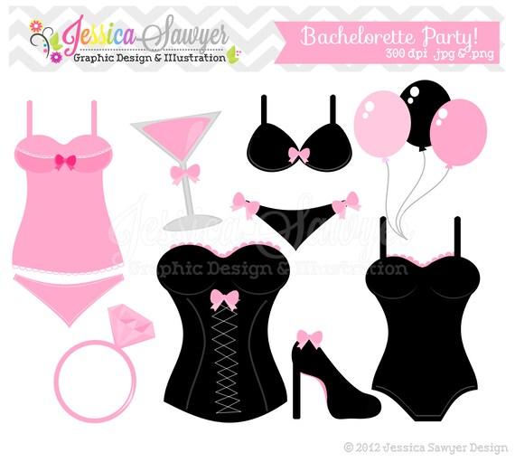 instant download bachelorette party clip art bridal shower clip rh catchmyparty com