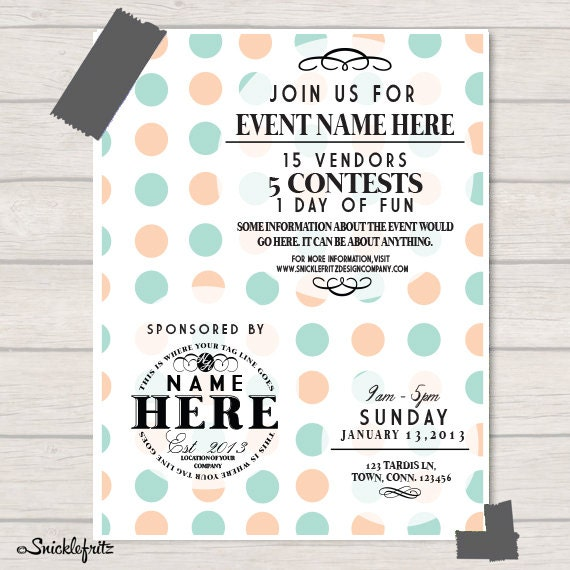 pin by vanessa isenbarger on posters pinterest event flyers