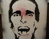 American Psycho (Patrick Bateman) wood cutout