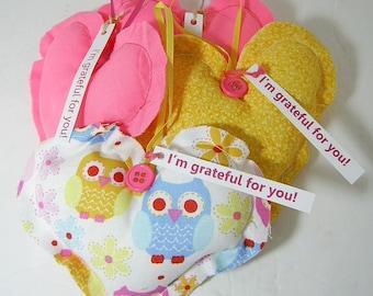 Thank You Gift Grateful Heart(TM) Set Owls